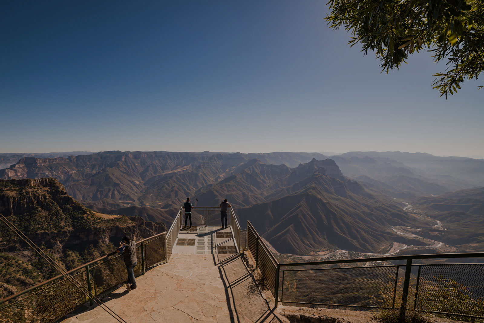 Unique Overlook Mexico's Copper Canyon